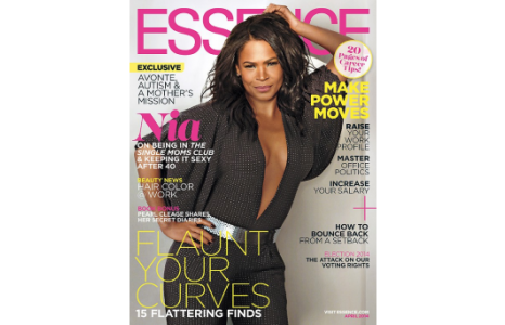 Nia Long and a familiar face in Essence Magazine